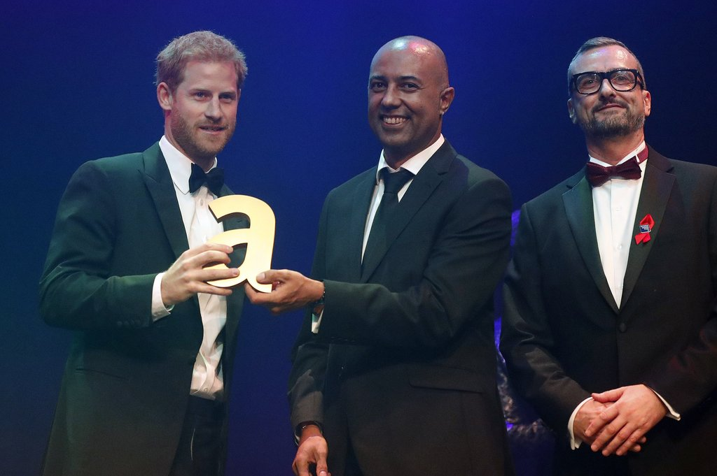 Prince Harry 2017 Attitude Awards