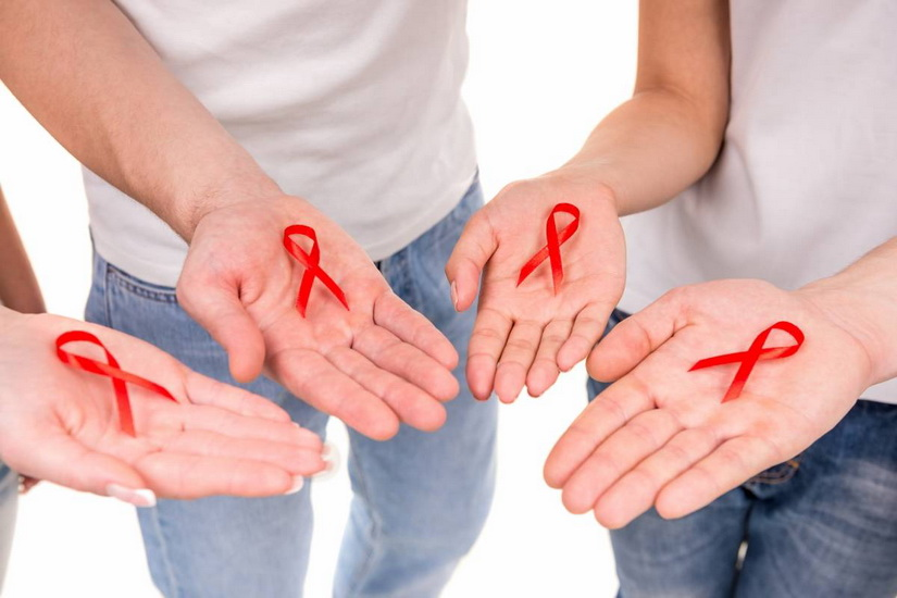 Red Ribbon hiv people